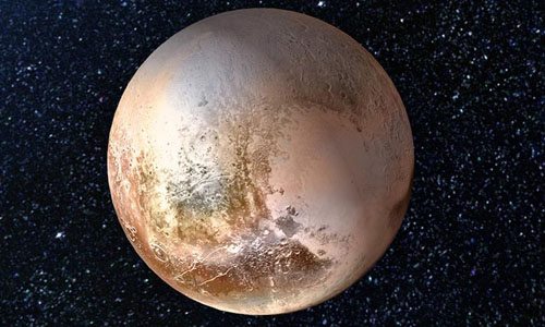 """Pluto """"The Rock Fab"""""""